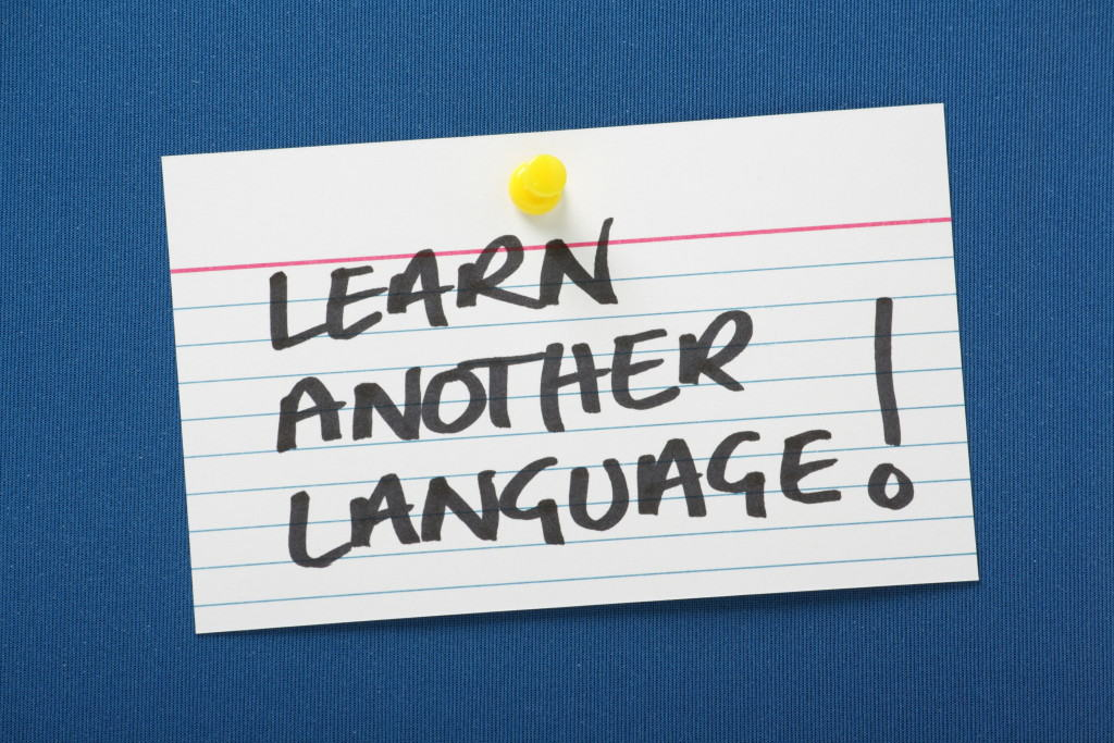 learn a second language