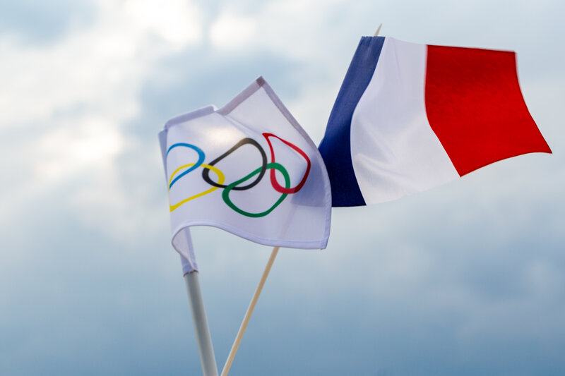 the role of the french in the olympics